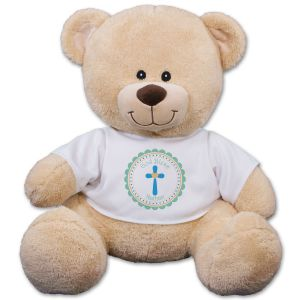 God Bless Teddy Bear 837257B9X