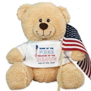 Home of the Free Sherman Teddy Bear 83986BX