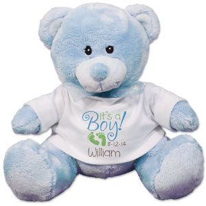 It's A Boy Blue Teddy Bear - 8