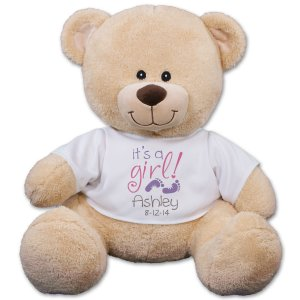 It's A Girl Teddy Bear 838119X