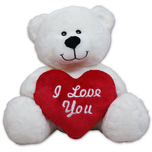 I Love You Heart Teddy Bear 8B890888
