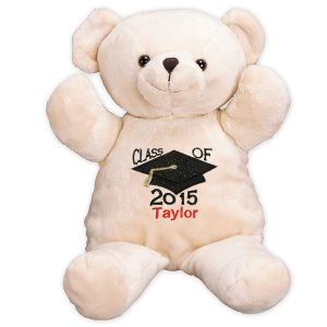 Embroidered Graduation Bear -17