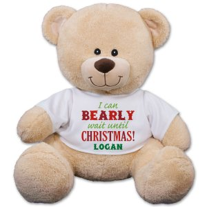 Christmas Personalized Teddy Bear