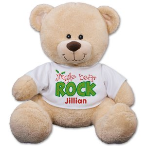 Jingle Bear Rock Teddy Bear