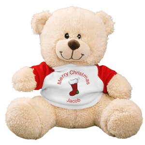 Christmas Stocking Teddy Bear - 11