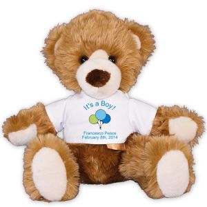 New Baby Boy Teddy Bear AU01630-4779