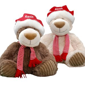 Christmas Teddy Bears  AU1645-6996X