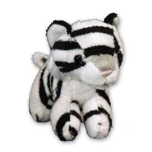 White Tiger Clip On Buddy AU03324