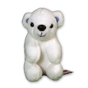 Polar Bear Clip On Buddy AU03329