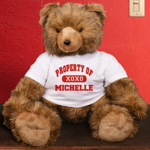 Property of Personalized Teddy Bear - 39