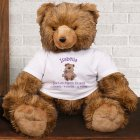 Personalized New Baby Brown Bear AU1407-4708