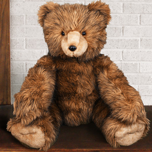 Brown Bruiser Teddy Bear - 39