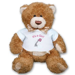 It's A Girl Teddy Bear AU1597-5043