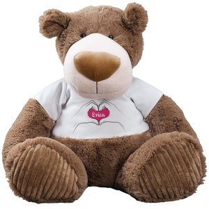 I heart you Personalized Big Teddy Bear - 30