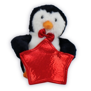 Penguin Gift CArd Holder AU19309PNP