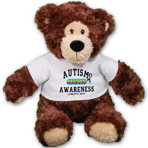 Personalized Autism Awareness Teddy Bear AU30861-4087