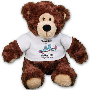 Personalized Love Birds Anniversary Teddy Bear AU30864-4744