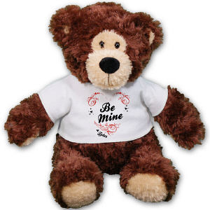 Personalized Be Mine Teddy Bear - 11