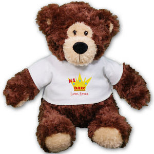Personalized # 1 Dad Teddy Bear AU30861-5173