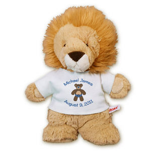Personalized New Baby Boy Lion AU30934-4570