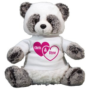 Couples Hearts Panda Bear AU3393-8126