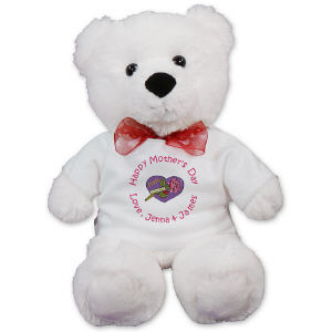 Personalized Mother's Day Teddy Bear AU50250-5211