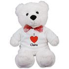 Personalized I Heart You Teddy Bear - 22