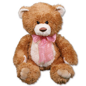 Non Personalized Brown Sugar Holiday Bear AU9613NP