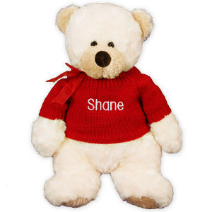 Embroidered Any Name Teddy Bear AU9616-7405