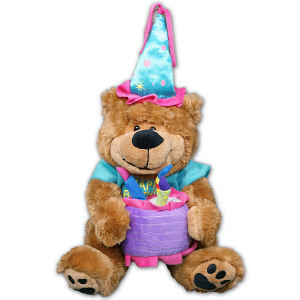 Happy Birthday Teddy Bear BB985828