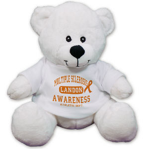 Personalized Mulitple Sclerosis Awareness Teddy Bear CC52994L-4163