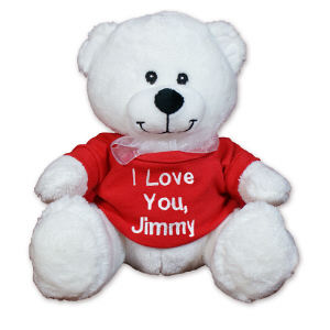 Embroidered Any Message Teddy Bear CC52994L-3181
