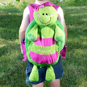Embroidered Silly Turtle Sac E703790