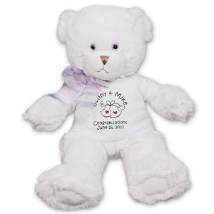 Personalized Wedding Bells Teddy Bear FM1786-4728
