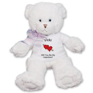 Will You Be My Valentine Teddy Bear FM1786-4795