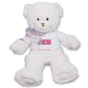 Personalized Number One Mom Teddy Bear FM1786-5215