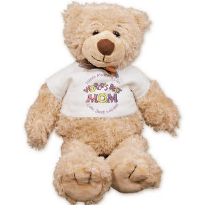 Personalized World's Best Mother Teddy Bear FM185-5811