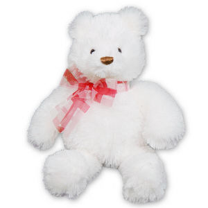 Brighton Large White Bear GU14383