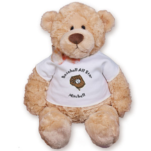 Little Slugger Baseball Teddy Bear GU15015-5470