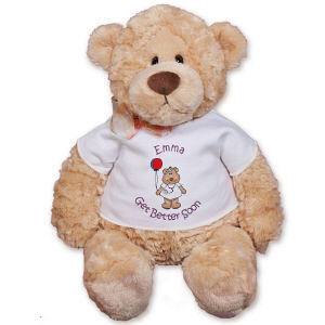 Personalized Get Better Soon Nurse Bear - 16