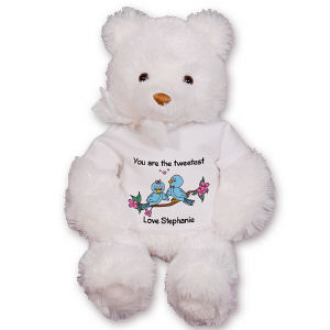 Personalized Love Birds Teddy Bear GU15234-4748
