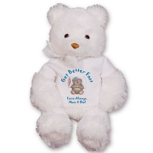 GU15235-4703 Personalized Get Better Fast Teddy Bear