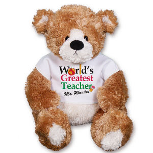 World's Greatest Teacher Teddy Bear - 13
