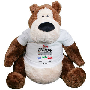 Personalized Best We Ever Saw Teddy Bear GU15286-361