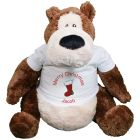 "Personalized Christmas Teddy Bear - 22"" GU15298-4627"