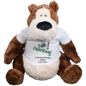 bah humbug christmas teddy bear gu15298 7215 - Christmas Stuffed Animals