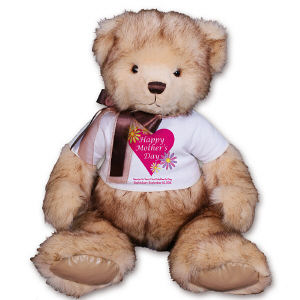 Personalized Happy Mother's Day Teddy Bear GU15358-5813