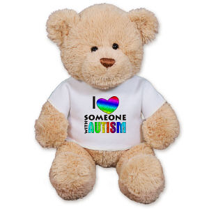 I Love Someone With Autism Teddy Bear GU15422-4091