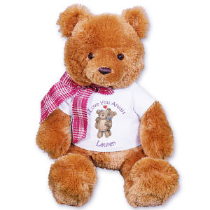 Personalized Couples Romantic Teddy Bear GU21025-4747