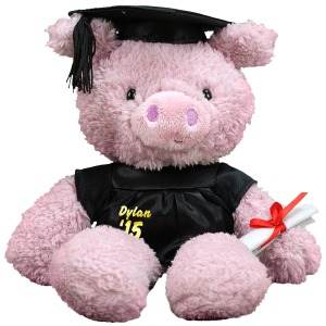 Graduation Cap and Gown Pig GU320600-1703